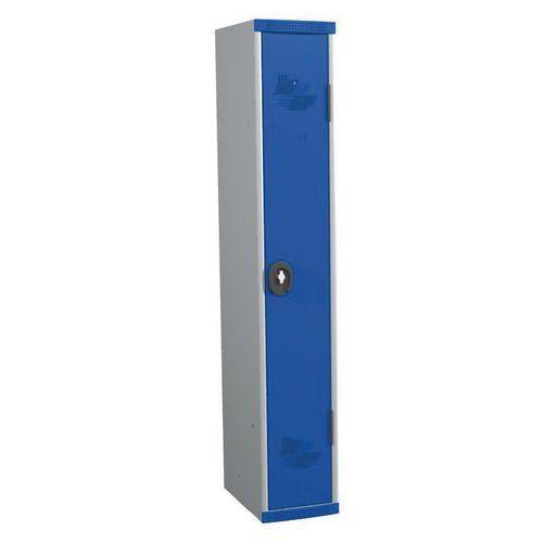 VEST MONO SOCLE IP 1 COL L300X H1800XP500 PCAD ENAS GRIS/BLE