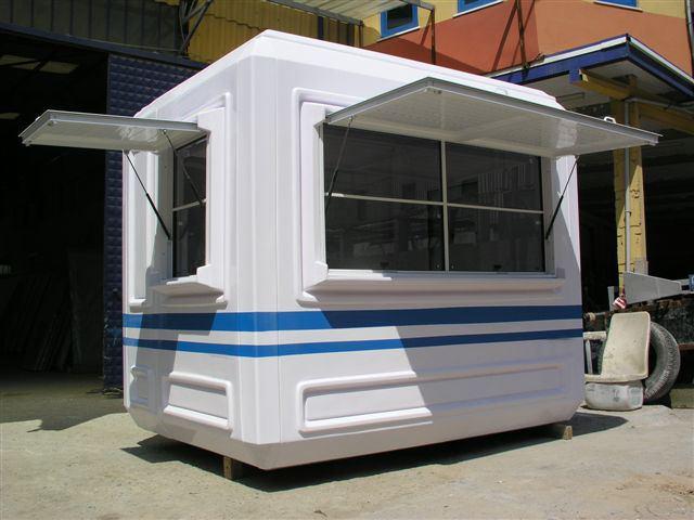 cabines guerite et abris en polyester. Black Bedroom Furniture Sets. Home Design Ideas