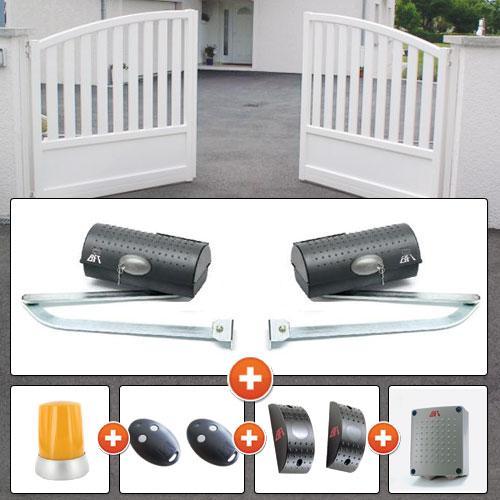 motorisation portail 2 battants bft igea 230v comparer les prix de motorisation portail 2. Black Bedroom Furniture Sets. Home Design Ideas