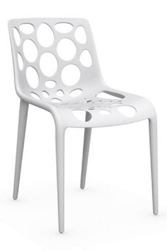 Calligaris chaise empilable hero  blanche