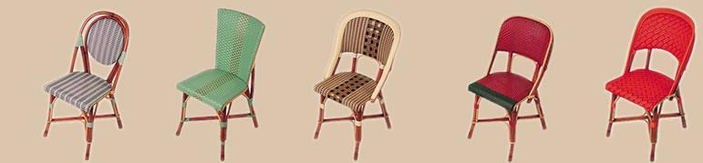 chaise de bistrot seine ref 3434. Black Bedroom Furniture Sets. Home Design Ideas
