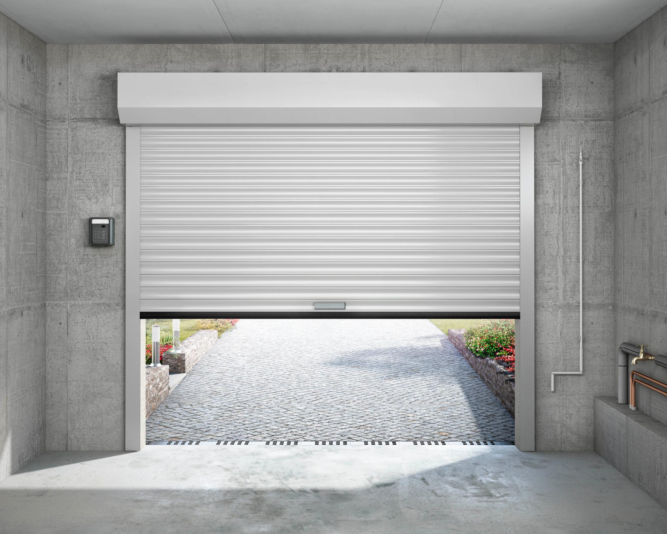 portes de garage a enroulement tous les fournisseurs. Black Bedroom Furniture Sets. Home Design Ideas