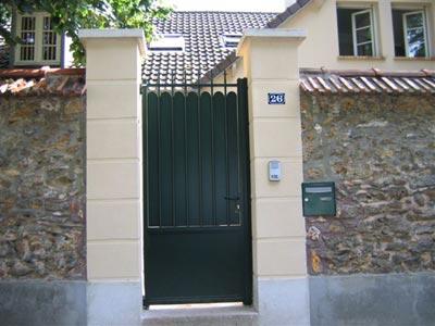 portillon hauteur 1m80 portillon treillis soud dd clotures et portails du douaisis portillon. Black Bedroom Furniture Sets. Home Design Ideas
