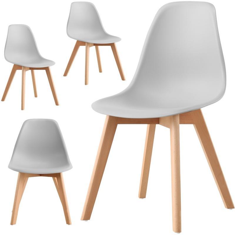 Chaise et fauteuil d 39 ext rieur casa baoli achat vente for 4 chaises scandinaves