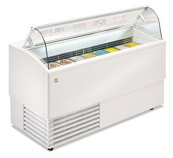 Vitrine a glaces froid statique tropical for Froid brasse ou froid statique