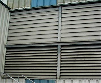 aerateur exterieur persiennes reglables