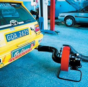 Extracteur de gaz mobile guepard