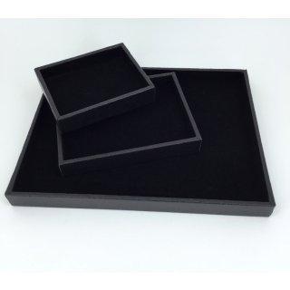 PLATEAU DIAMANTAIRE BIJOUX FOND PLAT 5 TAILLES 2 COULEURS.