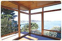 porte fenetre a ouverture en angle. Black Bedroom Furniture Sets. Home Design Ideas