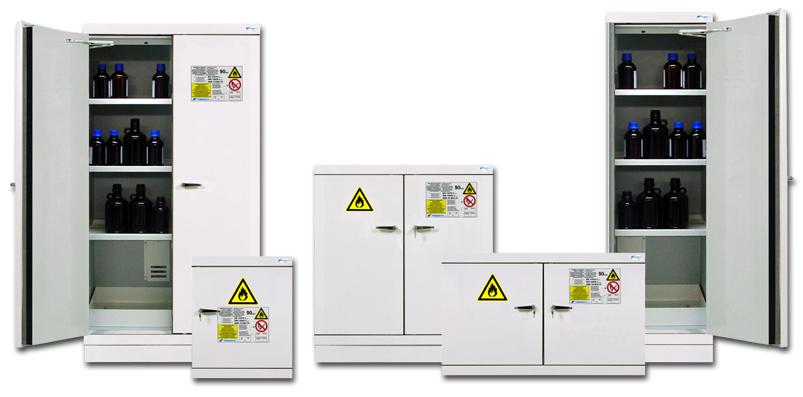 armoires de securite pour produits inflammables 90 minutes. Black Bedroom Furniture Sets. Home Design Ideas