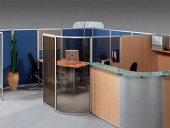 Cloisons de bureaux et cloisonnette paysage