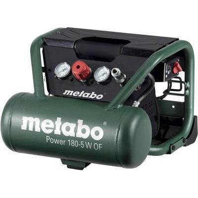 COMPRESSEUR METABO POWER 180-5 W OF 8 BAR RÉSERVOIR 5 L
