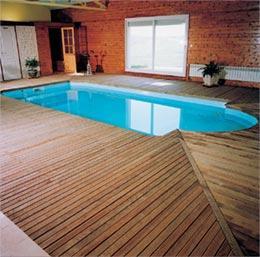 terrasse piscine en pin. Black Bedroom Furniture Sets. Home Design Ideas