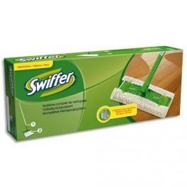 SWIFFER BALAI MANCHE 130 CM BASE 42X13 CM + 2 LINGETTES