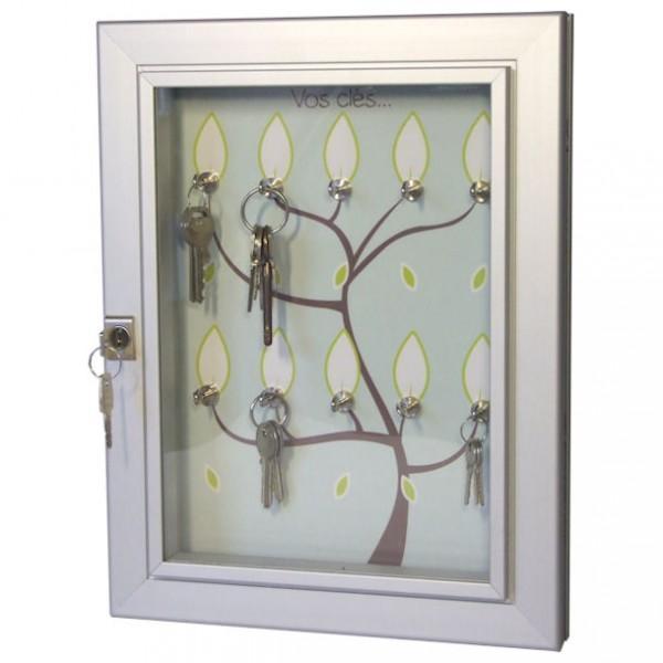 vitrine pour 10 cles eclairee. Black Bedroom Furniture Sets. Home Design Ideas