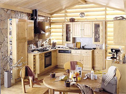 Cuisine rustique spirea for Cuisines rustiques
