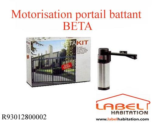 motorisation portail 2 battants bft beta 230v comparer les prix de motorisation portail 2. Black Bedroom Furniture Sets. Home Design Ideas