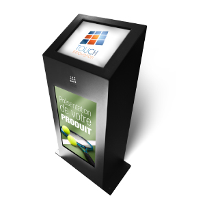 Bornes interactives informatiques d 39 exterieur tous les for Borne tactile exterieur