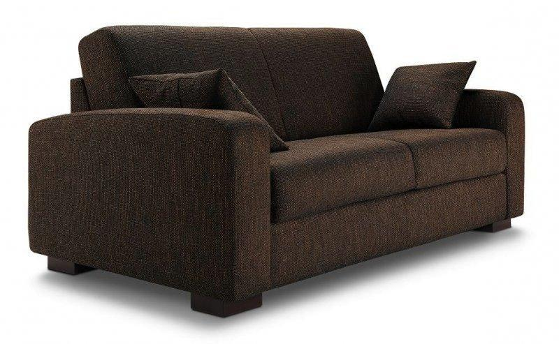 canape lit leonardo convertible rapido a ouverture assistee couchage quotidien 140 200cm. Black Bedroom Furniture Sets. Home Design Ideas