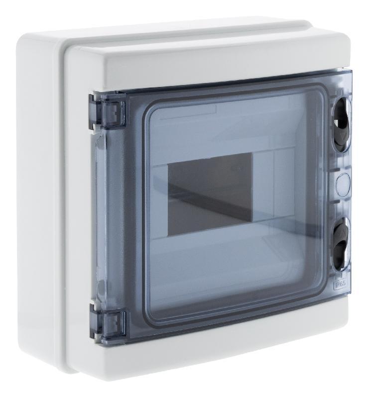 Coffret étanche ip65 12 modules livré avec accessoires - zenitech