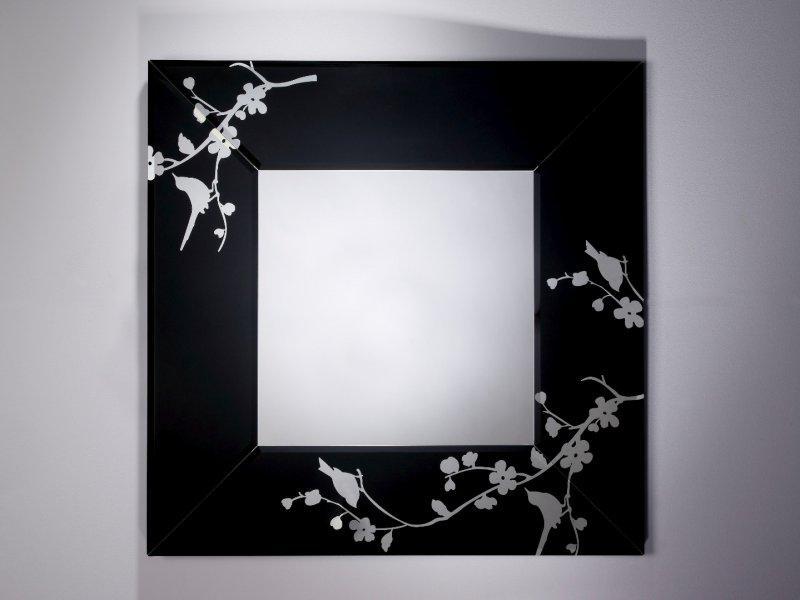 Sarah miroir mural en verre for Miroir de peine