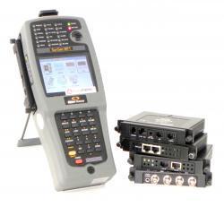 Testeur de transmissions numériques sunrise telecom ssmtt-acm-plus/p48