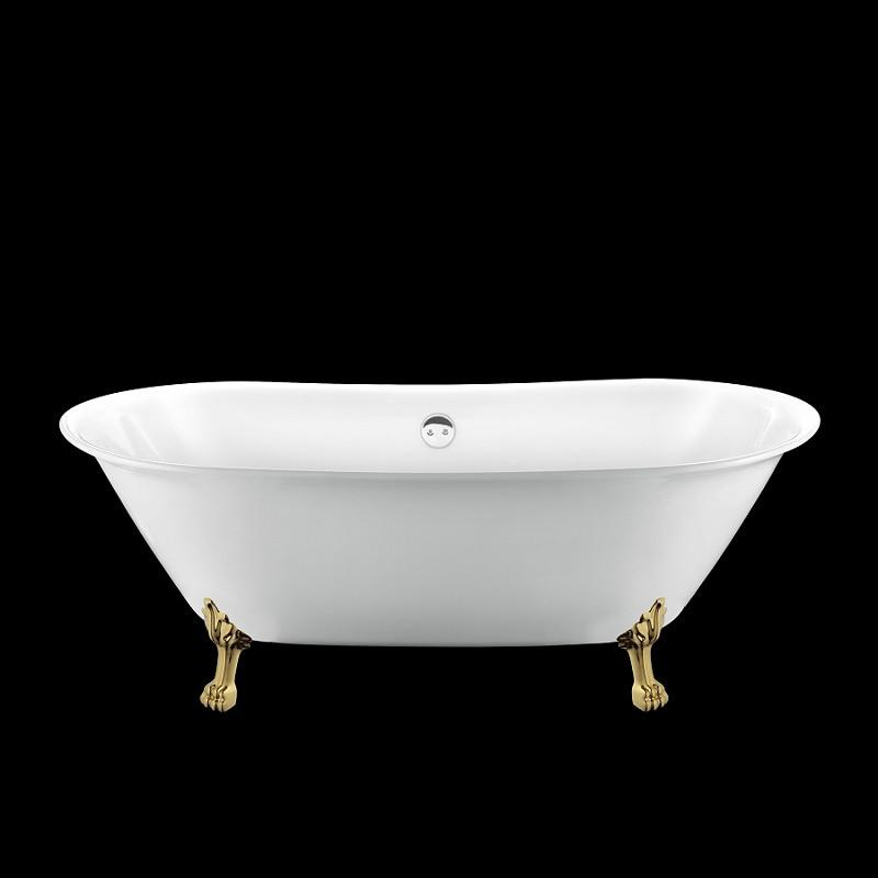 baignoire r tro surry hills 165 blanche avec pattes de. Black Bedroom Furniture Sets. Home Design Ideas