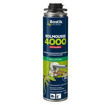 BOSTIK - MOUSSE POLYURÉTHANE ISOLMOUSSE 4000 PISTOLABLE 700 ML - 30601495