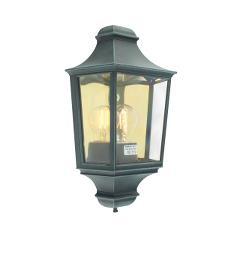 applique lanterne classique murale pour facade glasgow vert antique. Black Bedroom Furniture Sets. Home Design Ideas