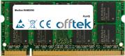 Ram mémoire pour medion ram2090 ordinateur portable ft256msq64v6u