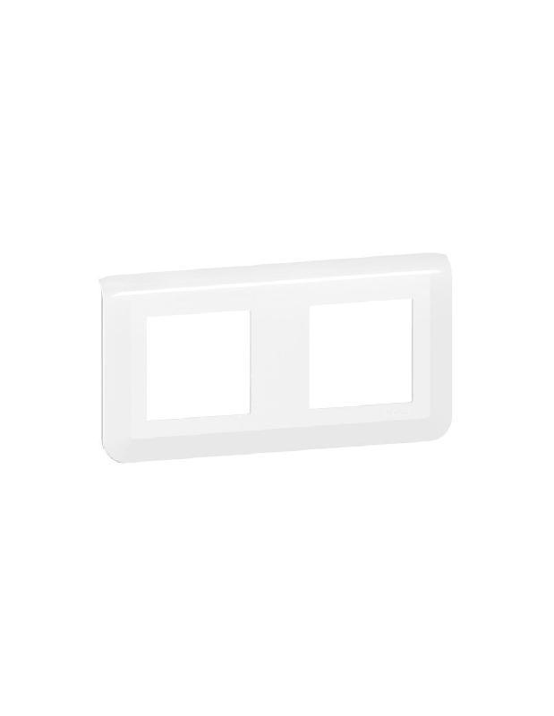 PLAQUE DE FINITION HORIZONTALE MOSAIC EASYLED 2X2 MODULES BLANCHE - LEGRAND - 078804L