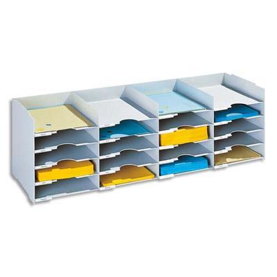 bloc classeur 25 cases fastpaperflow gris comparer les prix de bloc classeur 25 cases. Black Bedroom Furniture Sets. Home Design Ideas