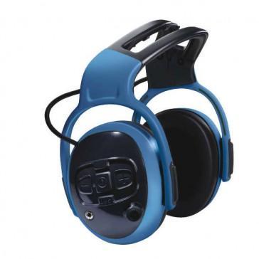 Casque anti-bruit bleu left/right electronique cut