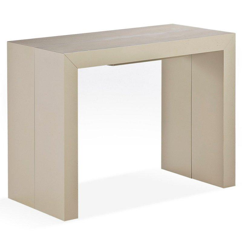 Console extensible massif maison design for Table bois massif extensible