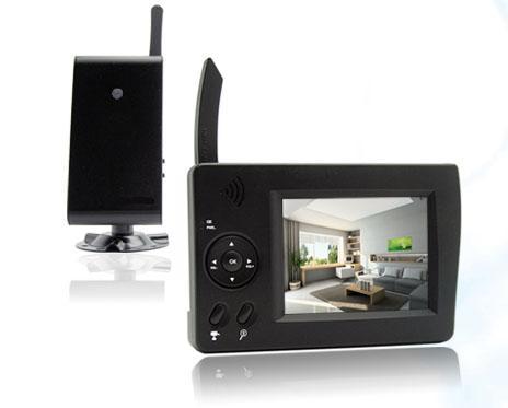 vid osurveillance digitale sans fil couleur extel wesv82400 comparer les prix de. Black Bedroom Furniture Sets. Home Design Ideas