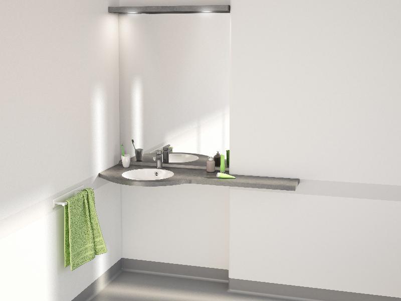 Tablettes de salle de bains tous les fournisseurs tablette en verre tablette en inox - Fournisseur salle de bain ...