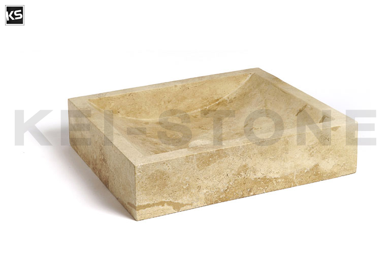 vasque en pierre tunis cm with kei stone pertuis. Black Bedroom Furniture Sets. Home Design Ideas