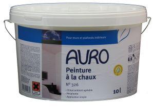 PEINTURE NATURELLE À LA CHAUX AURO 326