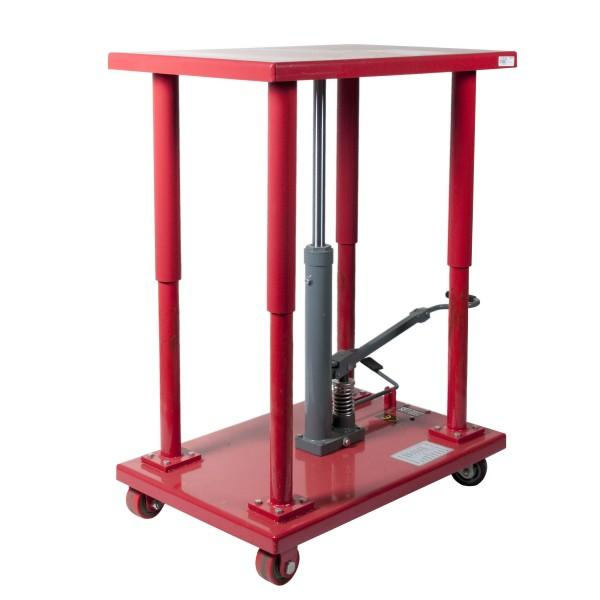 Table elevatrice manuelle a frein charge 900kg for Table elevatrice