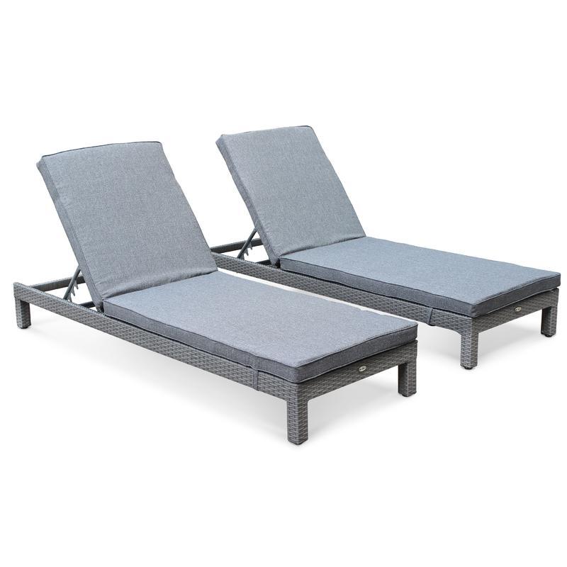 chaise longue alice 39 s garden achat vente de chaise. Black Bedroom Furniture Sets. Home Design Ideas