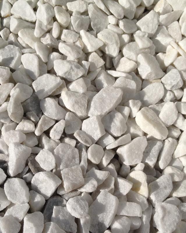 Gravillon extra blanc 8 15 concasse lave for Gravillon blanc prix