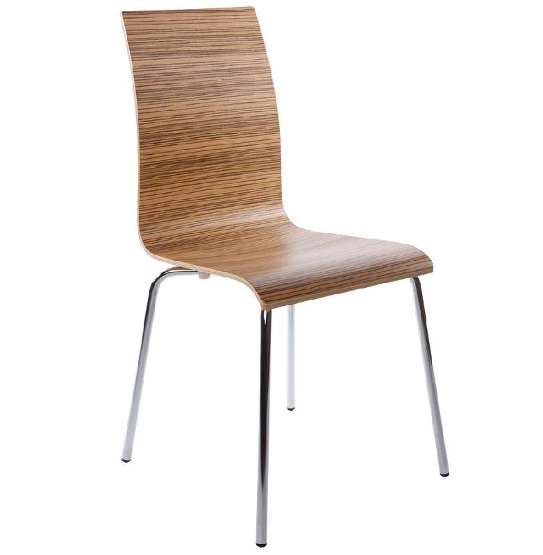 Chaise de salle manger design 39 espera 39 en bois finition for Chaise bois design salle manger