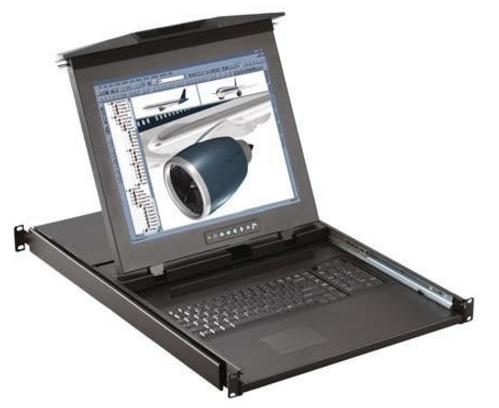 D117 / D119 - TIROIR CONSOLE LCD 17