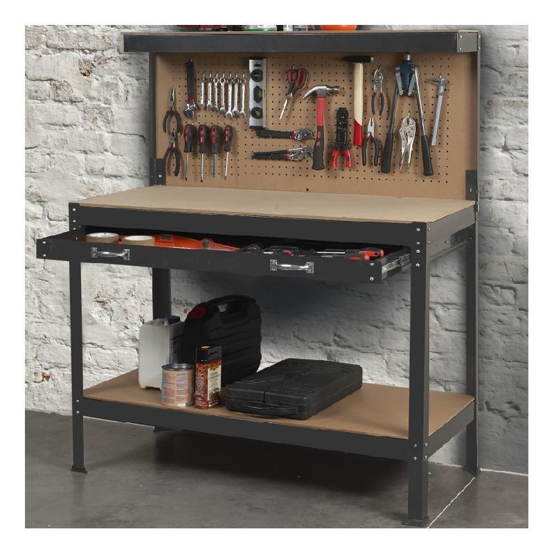 etabli avec tag re en bois tous les fournisseurs de. Black Bedroom Furniture Sets. Home Design Ideas