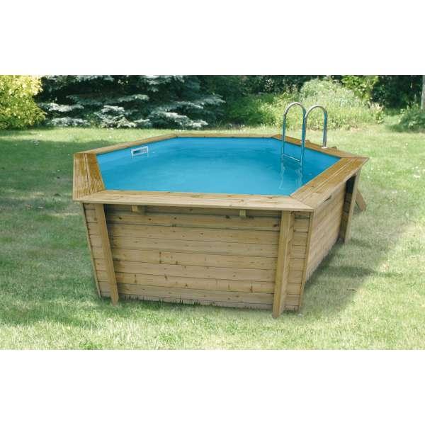Piscine en kit tous les fournisseurs piscine hors sol for Kit piscine bois