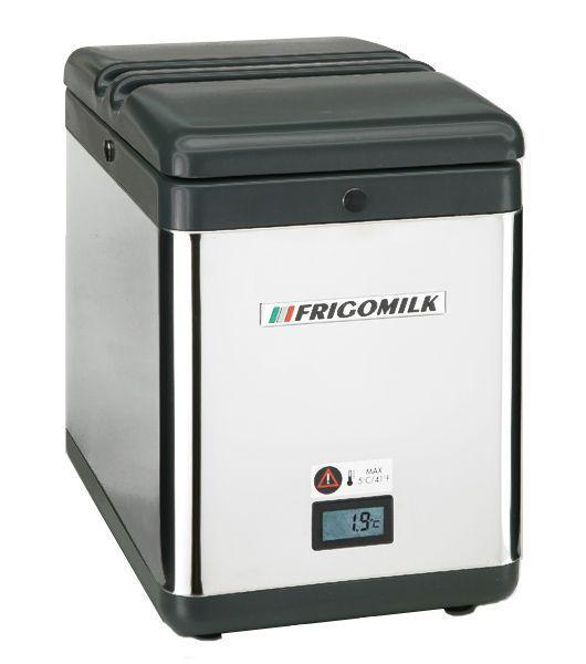 machine a cafe professionnelle tout automatique reserve de lait frigomilk. Black Bedroom Furniture Sets. Home Design Ideas