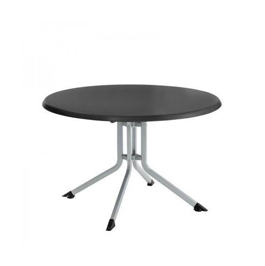 TABLE PLIANTE DE JARDIN ADVANTAGE RONDE ALUMINIUM - COULEUR ...