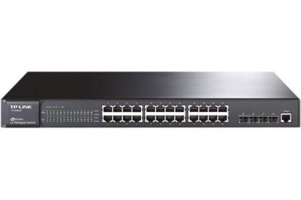 Tp-link tl-sg5428 sw niv2 24p gigabit+4sfp