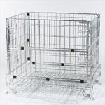 caisse palette metallique rerpliable. Black Bedroom Furniture Sets. Home Design Ideas