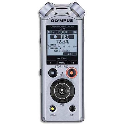 ENREGISTREUR NUMÉRIQU PRO OLYMPUS LS-P1 - 4GO - USB - MP3/PCM